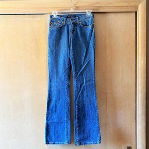 NWOT Sz 25x32 Polo Jeans Company Stretch Boot Cut